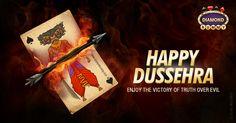Happy Dussehra 2015. Play Rummy On DiamondRummy.com