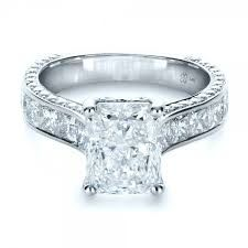 radiant cut engagement ring - Google Search