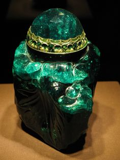 The fourth emerald ... I've heard emeralds are plagued with inclusions. It is a good reminder that imperfections are part of life.
