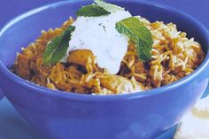 Chicken Biryani - One Pot A delicious one-dish wonder, biryani can be served on its own or as part of a banquet.