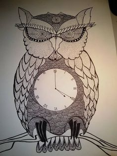 My 420 owl (unfinished)