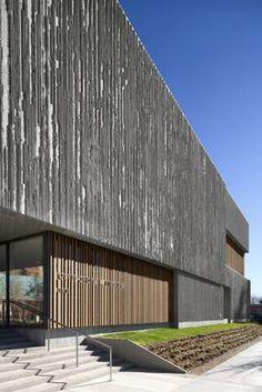 Brad Cloepfil : Allied Works Architecture : Clyfford Still Museum : Denver Museum Architecture, Amazing Architecture, Art And Architecture, Architecture Details, Clyfford Still, Concrete Texture, Building Facade, Facades, Art Museum