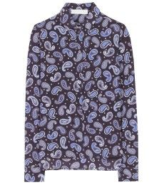 Silk Blouse with Paisley Print by Stella McCartney