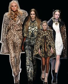 Milanese Leopard. Milan Fashion Week trends autumn/winter 2012