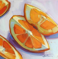 Orange Slices by Samantha Buller