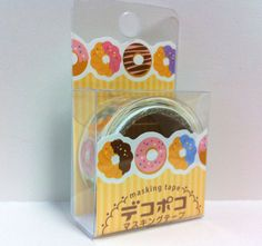 Kawaii Japan Deco Masking Tape:DecoPoco Series II Donuts