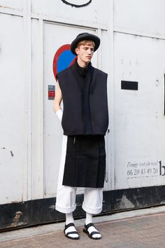 ストリートスナップパリ - Thys Uanderlaanさん | Fashionsnap.com