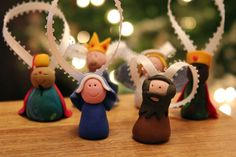 Fimo (polymer clay) makes great homemade Christmas ornaments!!!