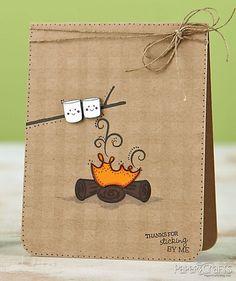 http://designermag.org/wp-content/uploads/2012/11/handmade-card-10.jpg cute card                                                                                                                                                      More