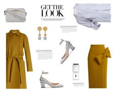 """LIGHT GREY & MUSTARD"" by canvas-moods ❤ liked on Polyvore featuring Roksanda, J.W. Anderson, Valentino, Mulberry, Givenchy, Rochas, modern, chic, fashionset and stylestaples"
