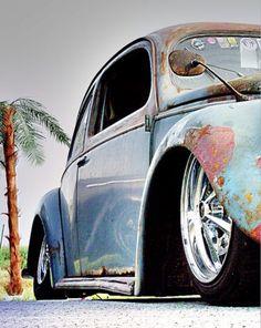 Rusty VW - Raider Wheels