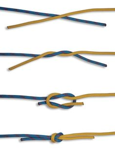 The Reef Knot is used for tying up the reefs of a sail. Tie it using 2 ropes or the ends of 1 rope. In this HOW TO TIE KNOTS, learn how to tie a Reef Knot Fishing Hook Knots, Fly Fishing Tips, Fishing Lures, Crappie Fishing, Ice Fishing, Fishing Tackle, Sport Fishing, Fishing Reels, Bass Lures