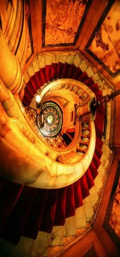 Neo Renaissance, Hotel Deville, staircase, Paris, France by John Galbo