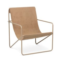 Ferm Living's Modernist Desert Chair is for indoor/outdoor use. Interchangeable woven seat made from recycled plastic bottles & black steel frame. Lounge Design, Black Soil, Outdoor Chairs, Outdoor Furniture, Lounge Furniture, Furniture Design, New Bedroom Design, Lounge Chair, Couches
