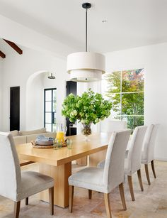 our dining room in Austin Home mag