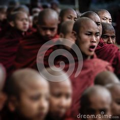 Photo about Myanmar - Pindaya - The cave festival. Image of travel, buddhism, prayer - 58806184 Buddhism, Vectors, Editorial, Sign, Stock Photos, Travel, Free, Image, Viajes