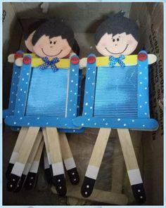 Popsicle Stick Crafts, Craft Stick Crafts, Preschool Activities, Diy And Crafts, Crafts For Kids, Arts And Crafts, Paper Crafts, Easy Valentine Crafts, Valentines