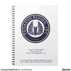 Custom Notebook | Zazzle