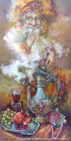 Violetta Nikolaevna Bazalii, a Russian   illustrator from Odessa.