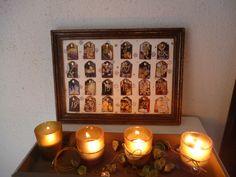 advent calendar frame
