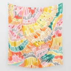 Pattern 6 Wall Tapestry