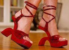 Bizarre shoes!