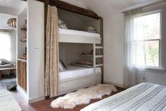 8 Cute Bunkrooms - Bunk Bed Bliss | COCOCOZY