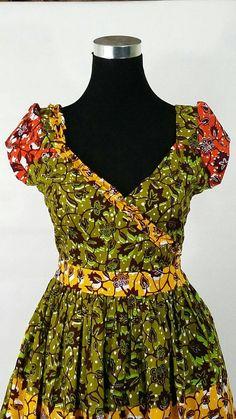 SUR vente africain impression Maxi robe robe par JENNYROSSYCLOTHING