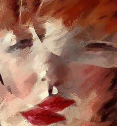 Sleep #face #woman #portrait #distortion #distorted #surreal #xocolate7 #appwhisperer #digitalart...