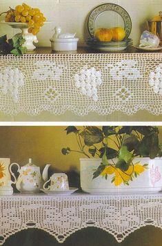 Ideas para el hogar: Todo puntilla en crochet