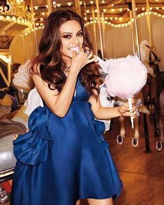 Cotton Candy...Terry Richardson x Mila x Harper's Bazaar