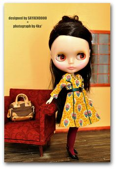 Blythe. Stylish girl.