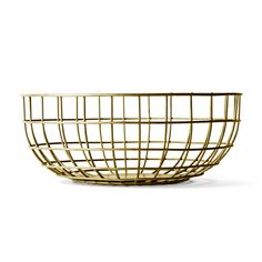Menu Metal Wire Bowls