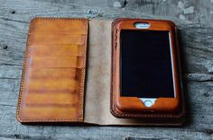 Leather iPhone 7 PLUS Wallet Case , iPhone 6s Plus Leather Case,iPhone Wallet,iphone 7 plus leather case , book wallet,Customized iphone 7