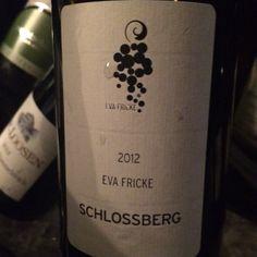 2012 Riesling Eva Fricke Schlossberg, Rheingau