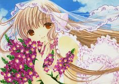 """Chii from """"Chobits"""" series by manga artist group CLAMP."""