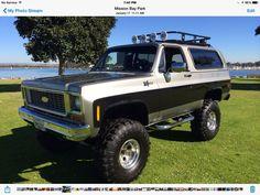 1974 Chevrolet Blazer K5
