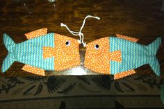 Fish bags for favors!