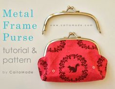 steel frame purse DIY