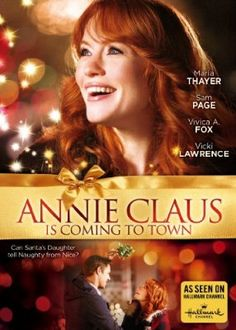 Hallmark-Annie Claus is Coming to Town starring Maria Thayer and Sam Page Xmas Movies, Family Christmas Movies, Hallmark Christmas Movies, Christmas Shows, Family Movies, Good Movies, Movies To Watch, Holiday Movies, Abc Family