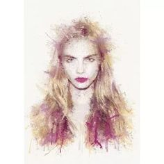 Cara By Daniel Mernagh: Category: Art Currency: GBP Price: Retail Price: This piece takes on English model and actress… People Art, Cara Delevingne, Limited Edition Prints, Contemporary Artists, Lovers Art, Fine Art Paper, Giclee Print, Graffiti, Street Art