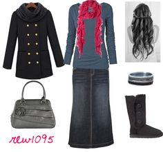 """""""Winter:)"""" by rew1095 ❤ liked on Polyvore"""