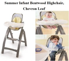 Check My Review On Summer Infant Bentwood Highchair Chevron Leaf In Gray  From Antique Wooden Baby