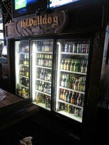 Man Cave Beer Fridge 225x300 Top 10 Man Cave Essentials