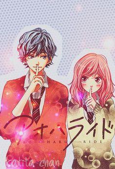 Ao Haru Ride / Blue Spring Ride - Kou Mabuchi/Tanaka and Futaba Yoshioka Anime Angel, Otp Anime, Manga Anime, Anime Love, Manga Love, Good Manga, Futaba Yoshioka, Futaba Y Kou, Ao Haru Ride Anime