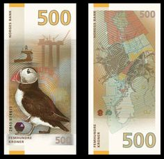 Designs by Enzo Finger (image via norges-bank.no)