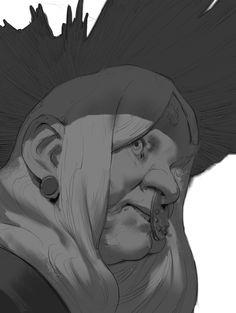 ArtStation - Daily Sketches Week 49, Even Amundsen
