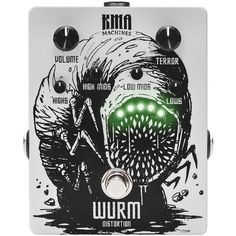 New!!! KMA Audio Machines (@kma_audio_machines) Wurm - Distortion    http://bit.ly/2jWZuUK    #kmaaudiomachines #kma #wurm #distortion #distortionpedal #effectsdatabase #fxdb