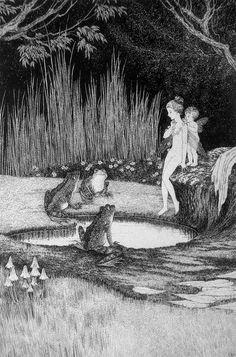 Ida Rentoul Outhwaite - The disputed bath
