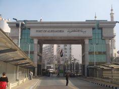 Port of Alexandria, Egypt